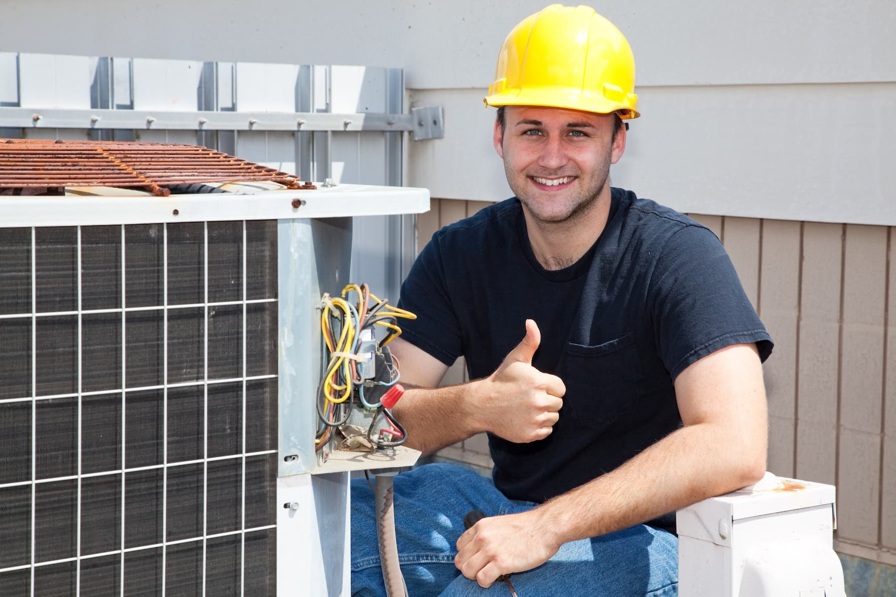 have a pro install your hvac unit