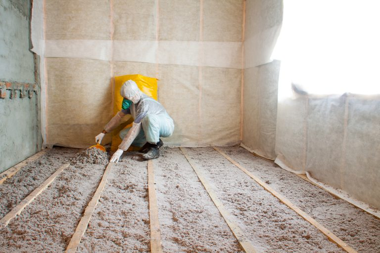 saving energy home insulation